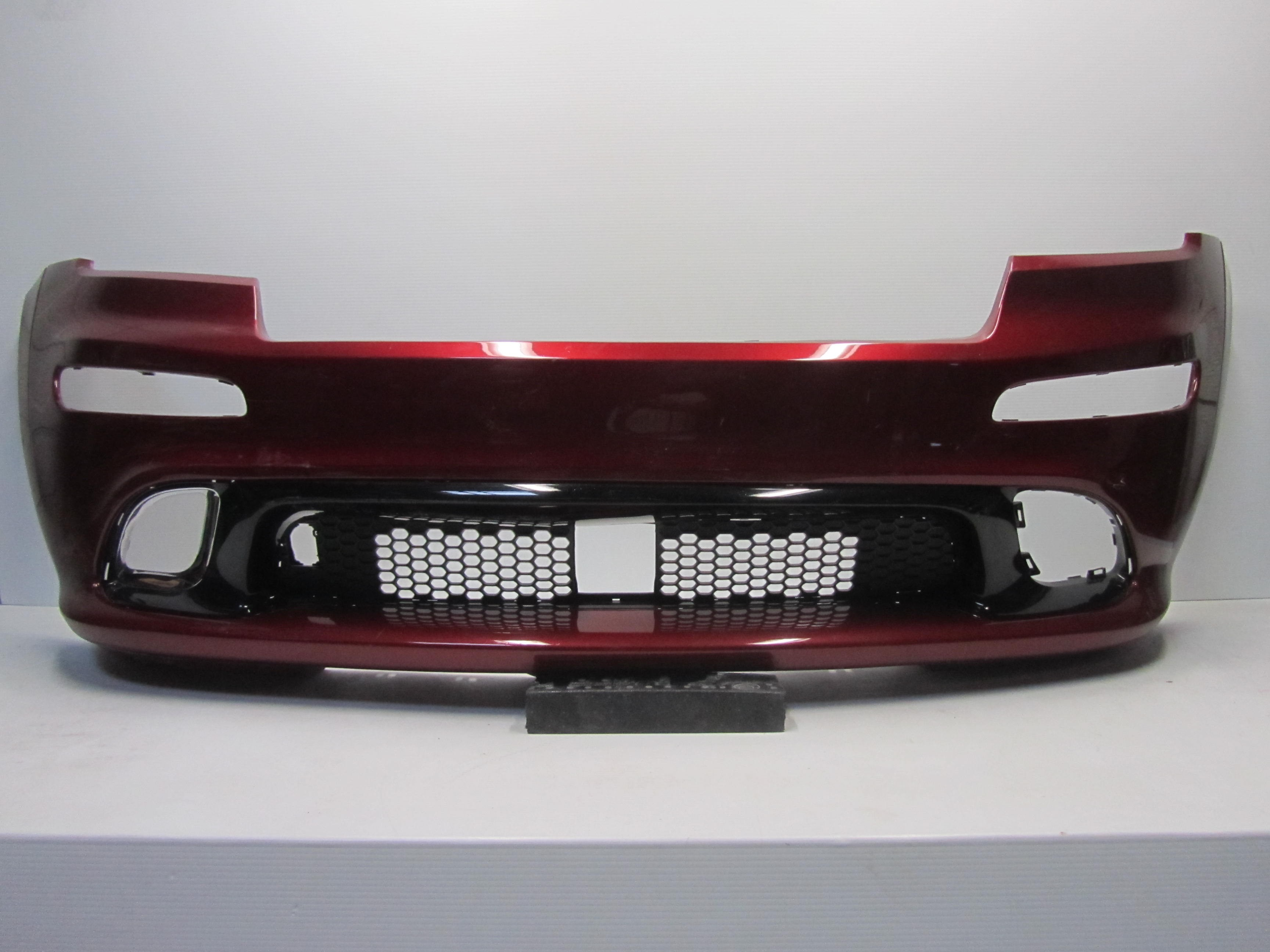 NEW Primered Front Bumper Cover for 2011 2012 2013 Jeep Grand Cherokee w// Fog