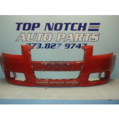05 06 07 08 Audi A3 S-Line Front Bumper Cover without washer openings