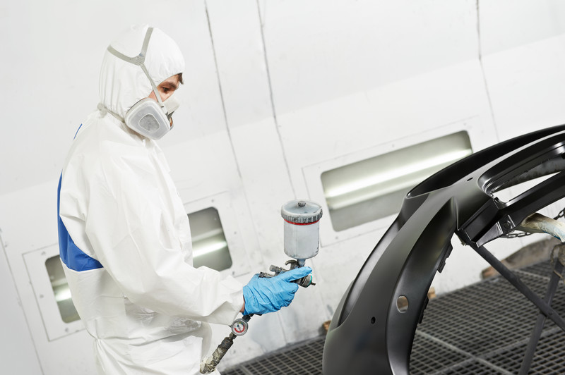Reconditioned OEM Bumpers - paint